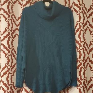 Sweaters - Beautiful teal cowl neck sweater